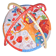 Ultra Comfort Musical Baby Playmat - Multicolour .
