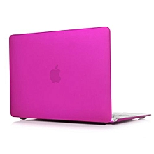 "For 12"" Macbook Case, Matt Hard Rubberized Cover For A1534 Macbook 12 Inch, Deep Purple"