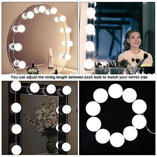 Buy Generic Free Gift 10 Bulbs Vanity Led Mirror Light Kit For