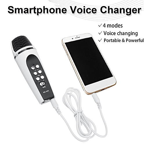 Smartphone Voice Changer Cellphone Voice Changer with earphones