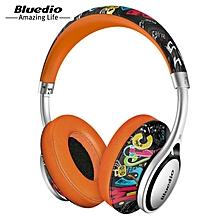 LEBAIQI Bluedio A2 Foldable Bluetooth Headphone Headset with Mic