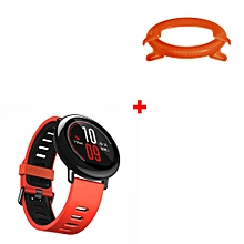 1PC Sport Silicon Wristband + 1PC Frame Case Cover For HUAMI AMAZFIT Smart Watch