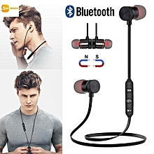 Magnetic Wireless Bluetooth Headphones In-Ear Noise Reduction Earphone With Microphone