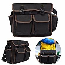 Thicken Oxford Waterproof Hardware Toolkit Shoulder Strap Tool Bag Backpack