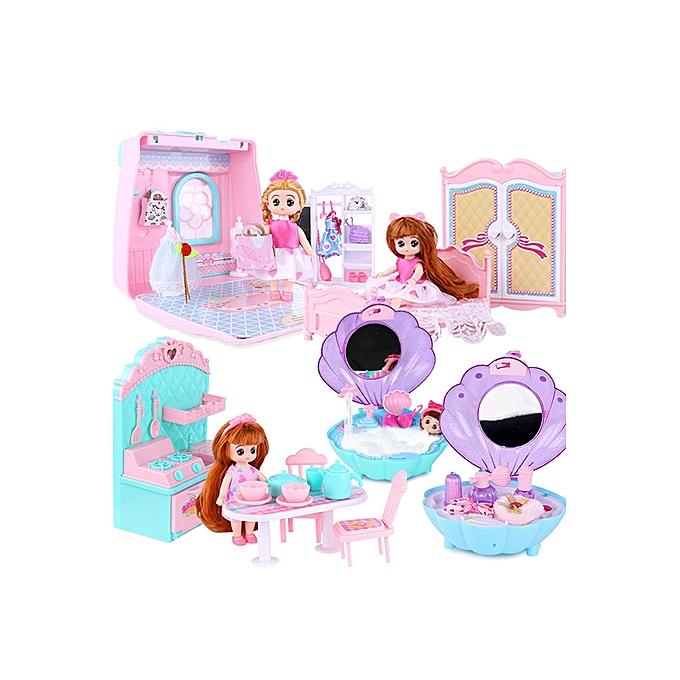 BoutiqueBarbie Mobile Gift Box Small Childrens Mini Kitchen Toys 3 6 Years