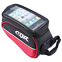 CBR 008 EVA Outdoor Portable Front Beam Bag Pouch for Bicycle Bike Cycling Red