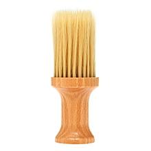Barber Neck Face Duster Brush Cleaning Hairbrush Hair Sweep Brush Salon Household Hair Cleaning Brush Nylon Hair