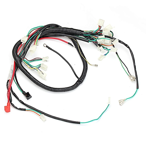 Generic Gy6 Atv Go Kart Electrical Wire Harness 150cc And 125cc 4
