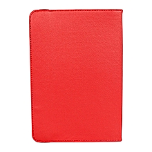 "5""-10"" - Universal Tablet Cover with Inbuilt Speakers - Red"