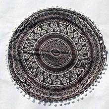Indian Mandala Pillows Round Bohemian Home Cushion Pillows Cover Case Cushions