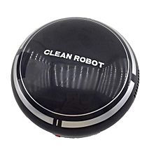 Automatic USB Rechargeable Smart Robot Vacuum Floor Cleaner Sweeping Suction-Black