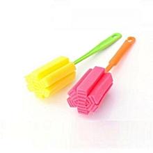 1 PC Kitchen Cleaning Tool Sponge Brush For Wineglass Bottle Coffe Tea Glass Cup-Random