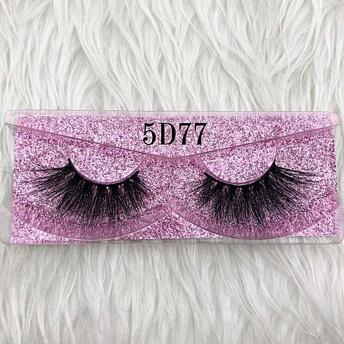 6e8befa1c39 Generic Mikiwi Thick Long 5D mink eyelashes long lasting mink lashes  natural dramatic volume eyelashes extension 3d false eyelash(C 0.15mm)
