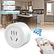 bluerdream-WiFi Smart Phone Remote Control Timer Switch Power Socket Outlet US Plug