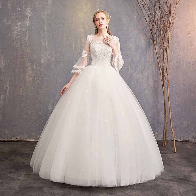 Buy Fashion Wedding Dressesluxury Embroidery Ball Gown At Best Price