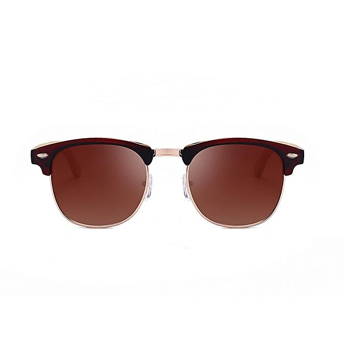 f6a549bb532 ... Elegant New fashion sunglasses men s classic bamboo legs bamboo glasses  sunglasses-umber ...