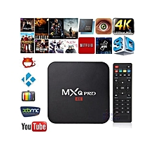 2018 Quad-core Android 7.1 Internet and Media Streaming Box - Black