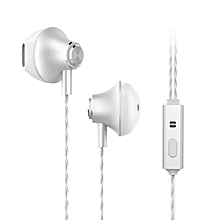 3.5mm Fashion Universal Wired Earphone Noise Isolation In-ear Headphones Metal BDZ