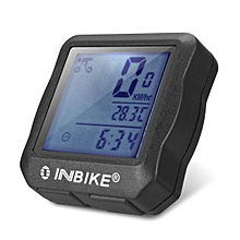Digital Backlight Cycle Bike Computer Bicycle Speedometer Odometer Waterproof