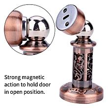 Antique Red Bronze Stainless Steel Electroplating Door Stopper Powerful Magnetic Door Stop