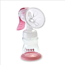 Functional Mummy Breastfeeding Manual Pump Milk Sucker Baby Milk Feeding Bottle