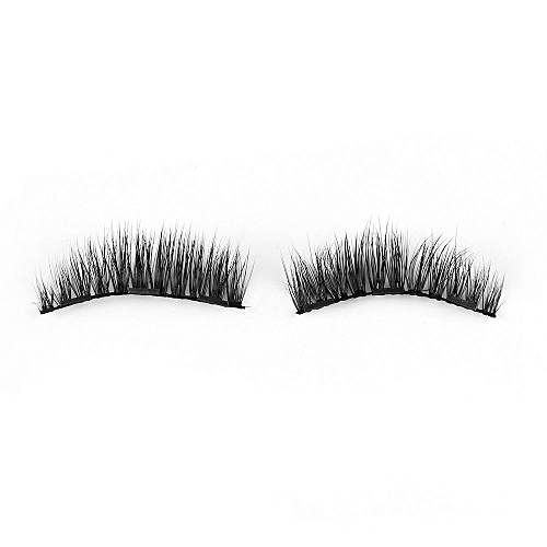4f96880a42b Generic 1Set Triple Magnetic False Eyelashes Makeup Handmade Full Coverage  Magnet Eye Lashes Thick Long Fake Eyelashes Extension Make Up(Style 036)