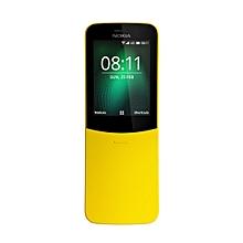8110 Dual Sim, 4G, Slider Phone - Banana Yellow