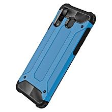 """Galaxy A8 Star Case,2 IN 1 Hybrid [Full Body] [Heavy Duty] Armor Case Dual Layer Shock Absorbing TPU Protective Case for Samsung Galaxy A8 Star/Galaxy A9 Star 6.30""""- Blue"""