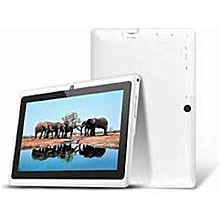 Q75S Kid Tablet-7 Inch -8GB-512MB RAM - Wifi -Quad Core  -White