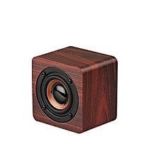 Mini Wireless Bluetooth Speaker Wooden Portable Bluetooth 4.2 Speakers