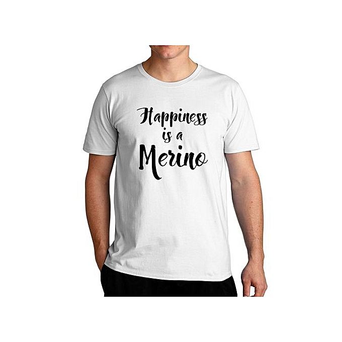 d203701fc Fashion Happiness Is A Merino Cool T-Shirt For Men @ Best Price ...