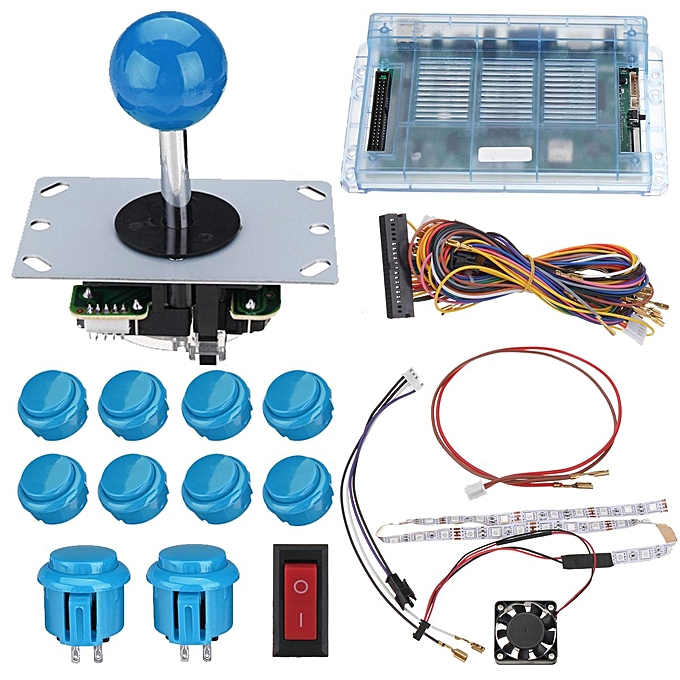 Buy Generic 999 Games Home Arcade Board w/2-Players Harness Wire DIY ...