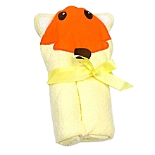 Infant to toddler quality Hooded Baby Towel  - Yellow