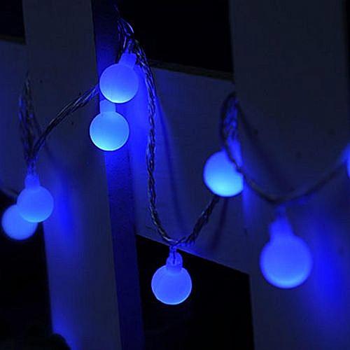 Led Weihnachten.10m 100 Led Lichterkette Lichtschl Uche Lichtervorhang Weihnachten Deko 220v