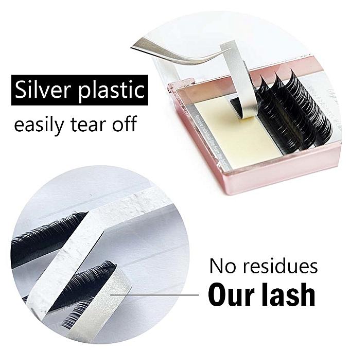 90773fce660 ... LAGEE J B C CC Curl 7-15 mm mixed natural individual eyelash extension  fake false Mink ...