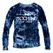 Blue Bleached  Men's Sweatshirts