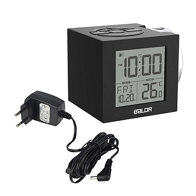 Buy Generic Home Lcd Projection Alarm Clock With Backlight