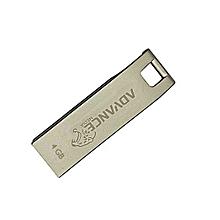 High Speed Aluminium Flashdisk Drive - 4GB - Silver