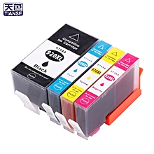 TA-4pcs 920XL Ink Cartridge Compatible for PRO 6000 6500 7000 Printer Non-OEM Black, Yellow, Magenta, Cyan