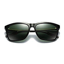 Hot sale Brand Logo Design Mens Polarized Sunglasses Driving Pilot UV400 Eyewear Mirror Sun Glasses Accessories For Men Women A387-green