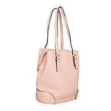 Beige Hobo Style Handbag