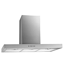 120cm Stainless steel T-shape Wall extractor/hood-Silver (Duct-out Only)
