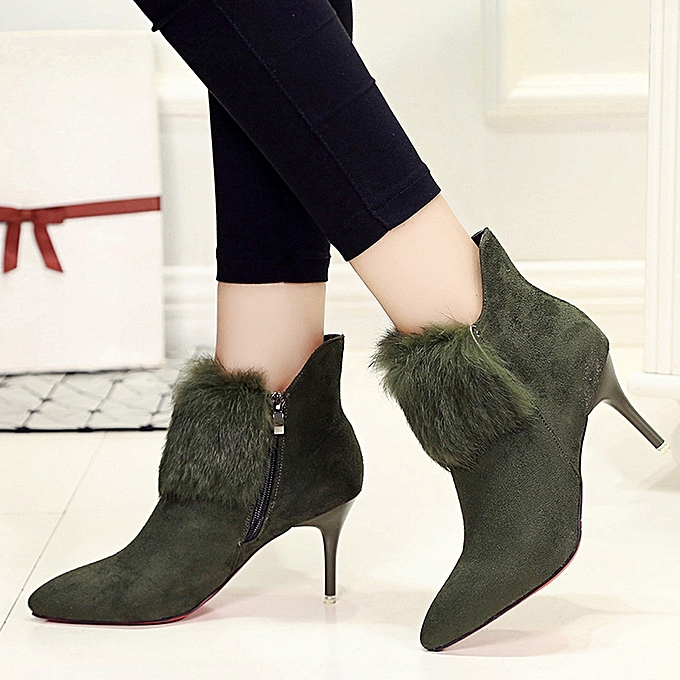 Women Sexy High Heels Platform Ankle Boots Thin Heel Shose Boots Shoes  GN/35-