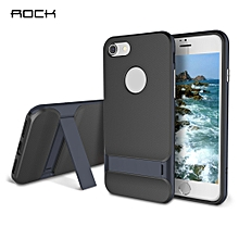 Royce Series TPU Back Cover Kickstand For IPhone 7 Plus - Cadetblue