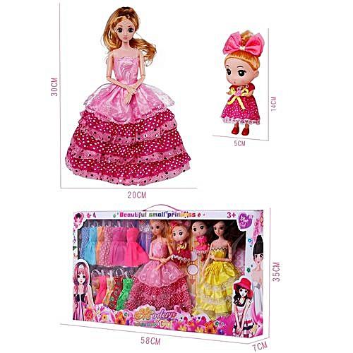 847b4e162c3af Braveayong Fashion Handmade Wedding Clothes Dress For Doll XMAS GIFT -as  Show