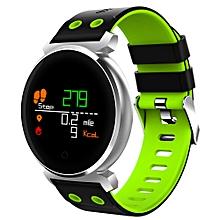 "K2 - 0.95"" Smart Watch 200mAh Bluetooth Remote Camera - Green"