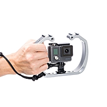 Universal Camera Cages 1/4 3/8 Screw Hole Mount Holder For Tripod GoPro Underwater Shooting SK-GHA6-
