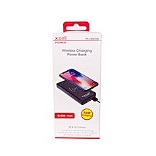 PC10201WL - Wireless Charging Power Bank - 10,000mAh –  Black
