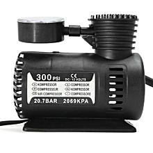 12V Portable Mini Air Compressor 300 PSI Auto Car Electric Tire Inflator Pump