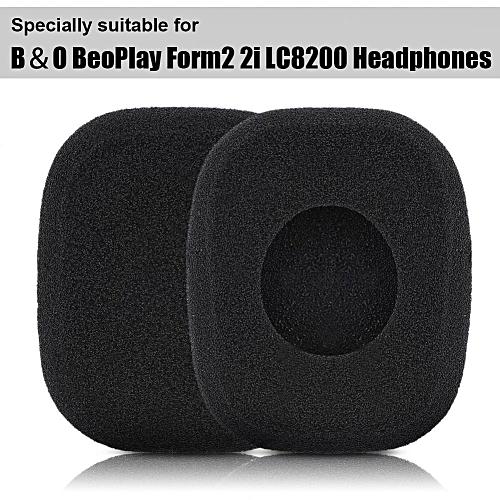 086c6eca01f Generic Foam Ear Pads for Headphone Square Foam Headphone Covers Breathable  Headphone Earpads for B&O BeoPlay Form2 2i LC8200 (Black) XINJIN
